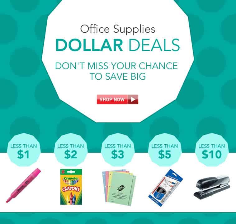 123InkCartridges: Office Supplies Dollar Deals