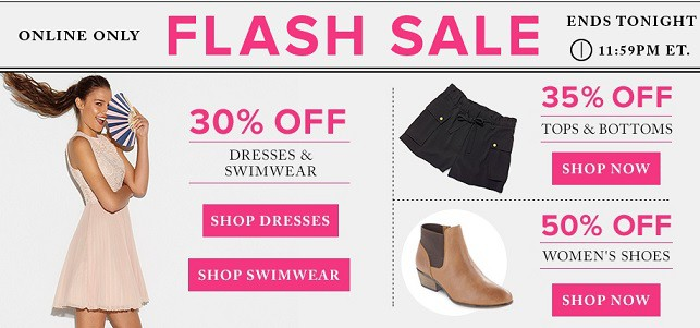 hudsons bay flash sale