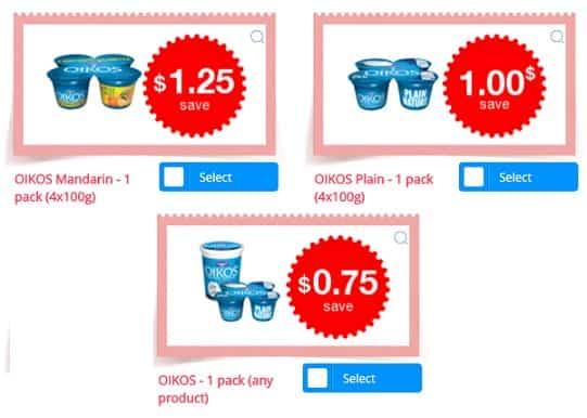 oikos coupons