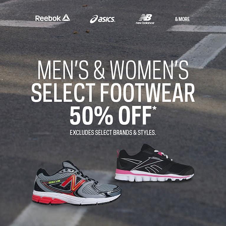 sport chek footwear