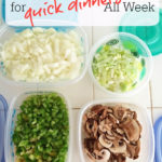 Meal Prep Ideas for Quick Dinners all Week
