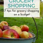 7 Tips For Grocery Shopping On A Budget