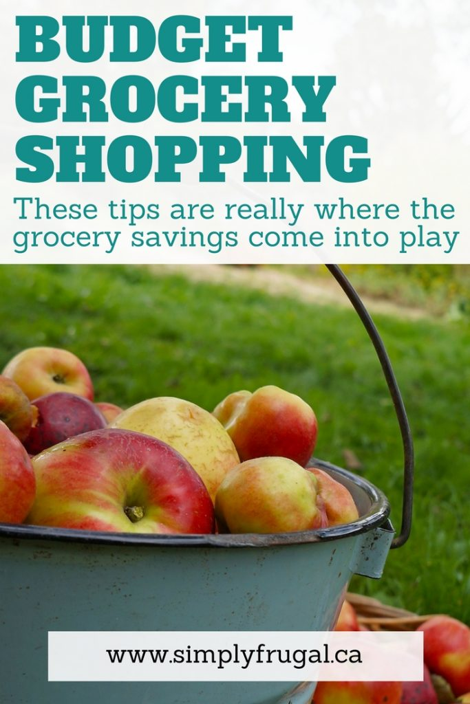7 Tips For Grocery Shopping On A Budget. Grocery saving tips. Budget Grocery Shopping.