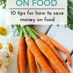 10 Tips For How To Save Money On Food