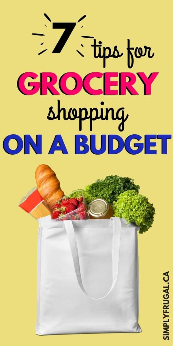 Don't miss our top 7 Tips For Grocery Shopping On A Budget. Practical advice that gives you amazing meals while staying in budget with ease.