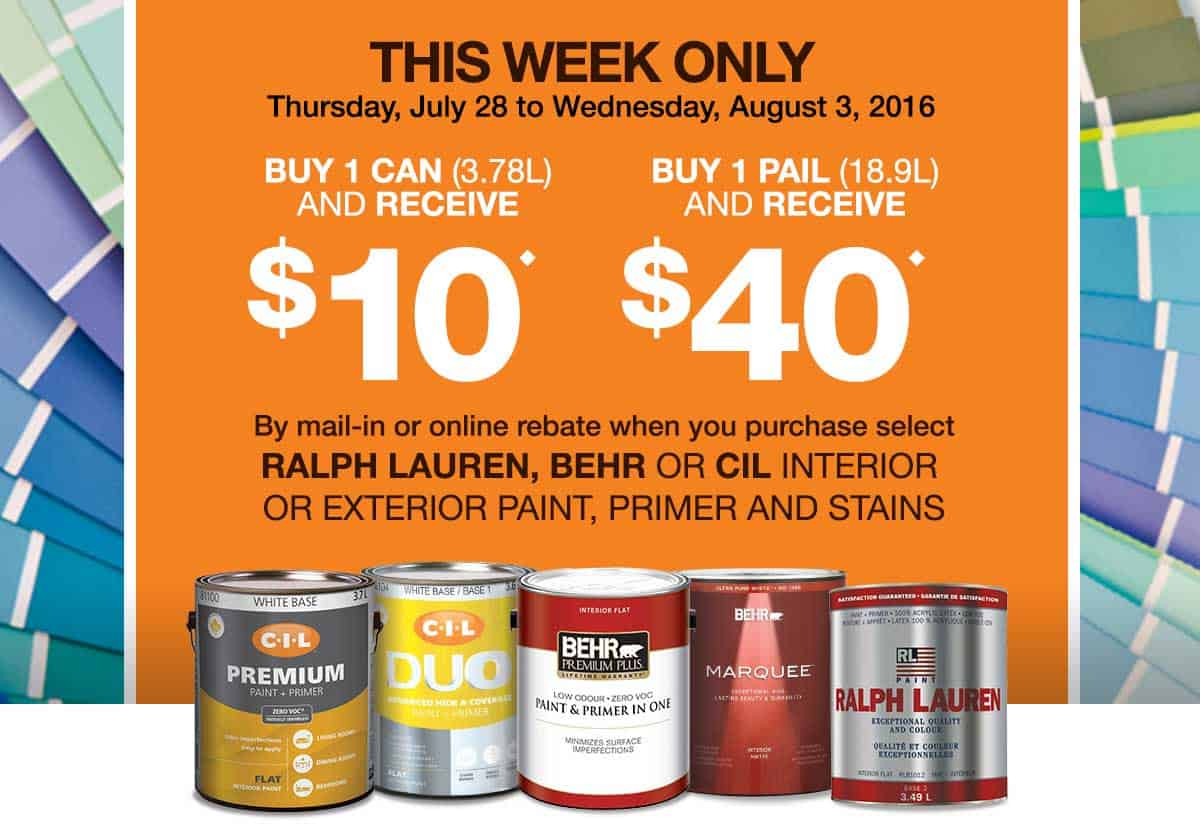 Free Behr Stain After Rebate At Home Depot More: Homedepotrebates Com