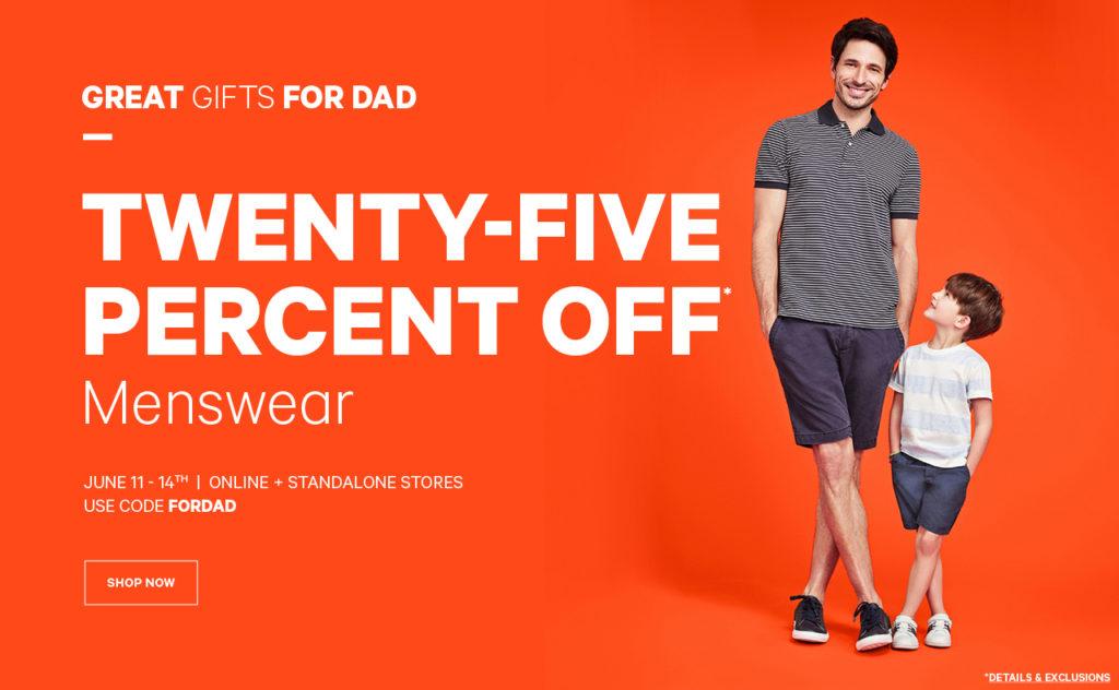 joe fresh menswear sale