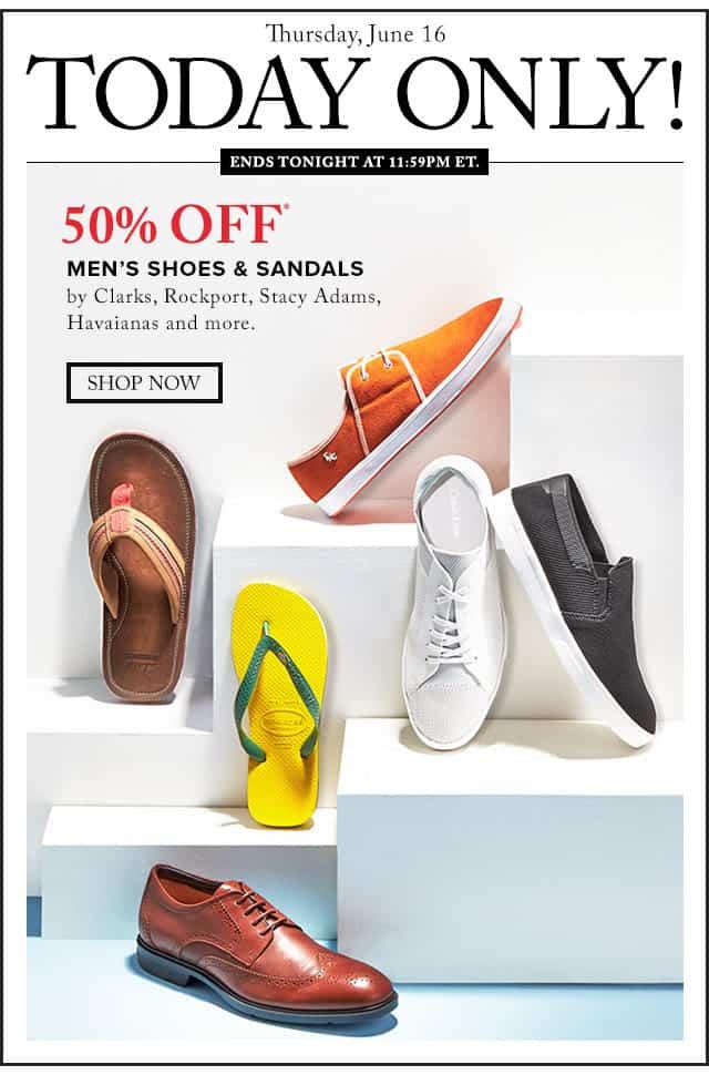 Hudson's Bay Flash Sale: 50% off Men's