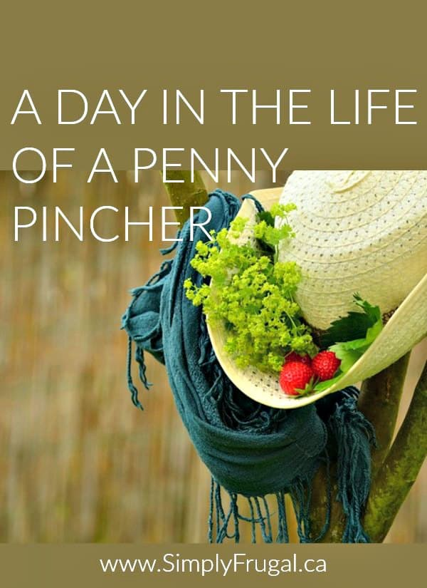 Come on a journey and take a look at a day in the life of a penny pincher! Discover some of the daily tasks that save them big!