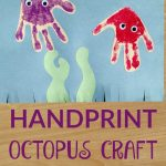 Handprint Octopus Craft