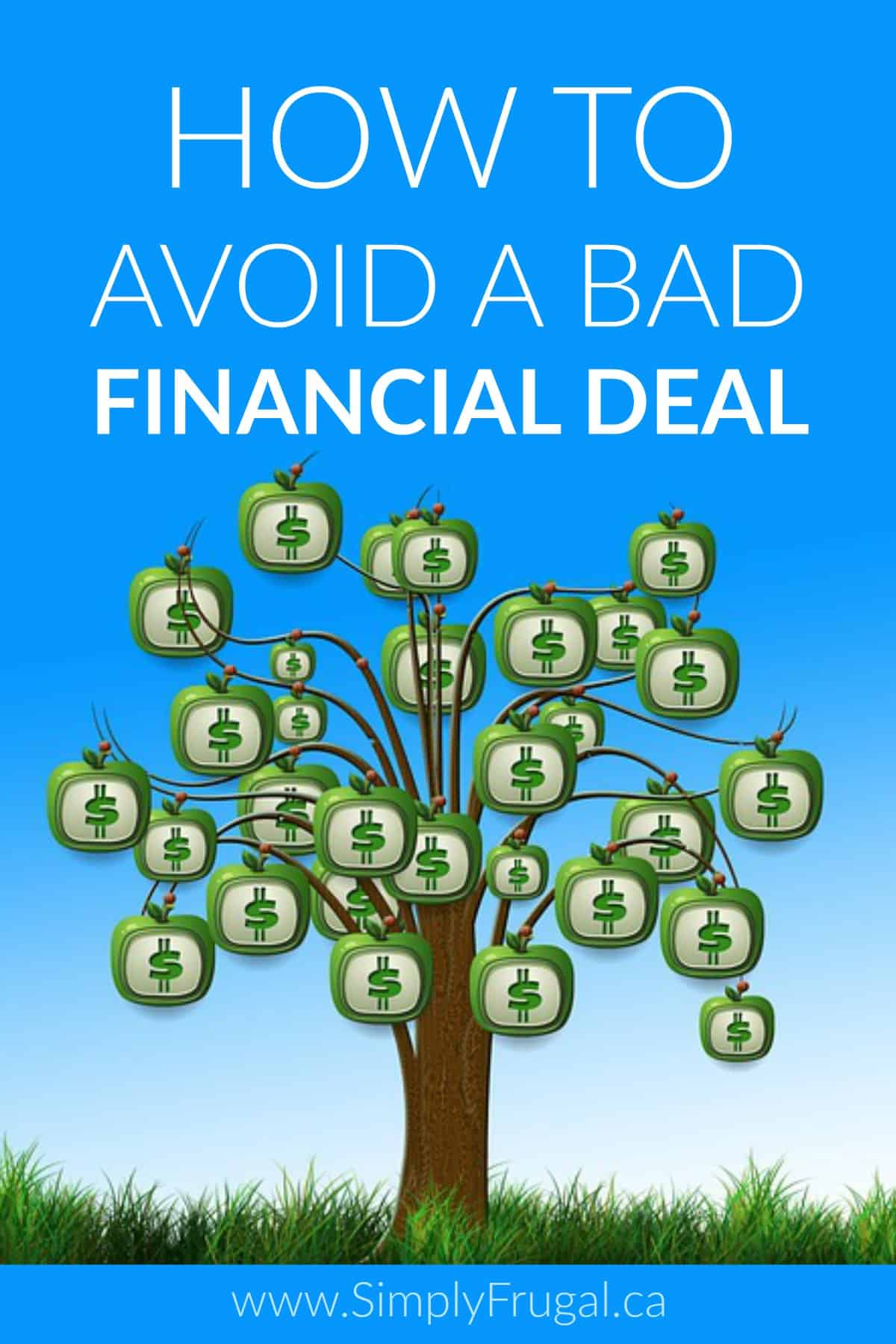 "Are you easily enticed by sales? A ""good"" deal can actually turn out to be a bad deal, especially if you you go overboard or don't have a financial plan in place. Here's how you can avoid a bad financial deal."