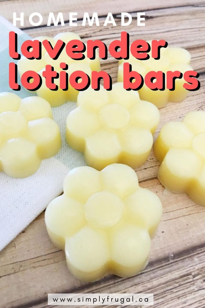 I lovehow soft my my skin feels after using these Lavender Lotion Bars. Whether for yourself or as a gift, you're going to want to put these Homemade Lavender Lotion Bars on your to-do list today!