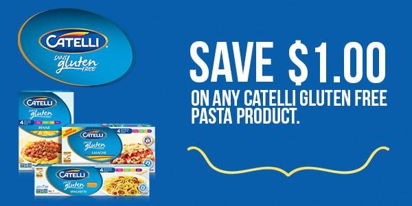 catelli gluten free coupon