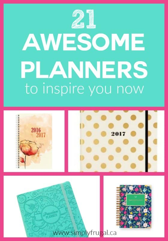 Love a great planner? Here are 21 awesome planners to inspire you now!