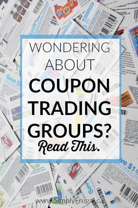 Wondering how you can get your hands on more Canadian coupons? You've got to check out this post that details how to use coupon trading groups on Facebook to grow your coupon stash.