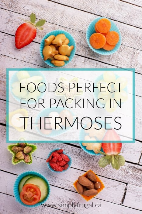 Thermoses are a great investment and perfect for adding flavor and variety to back to school lunches. Take a look at these 7 foods perfect for packing in thermoses so your child can enjoy a lunch that is fun, fueling, and healthy!