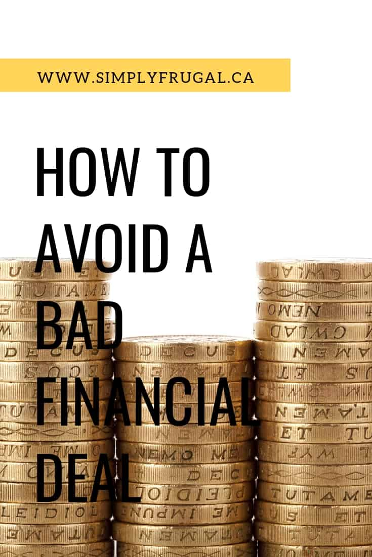 """Are you easily enticed by sales? A """"good"""" deal can actually turn out to be a bad deal, especially if you you go overboard or don't have a financial plan in place. Here's how you can avoid a bad financial deal."""