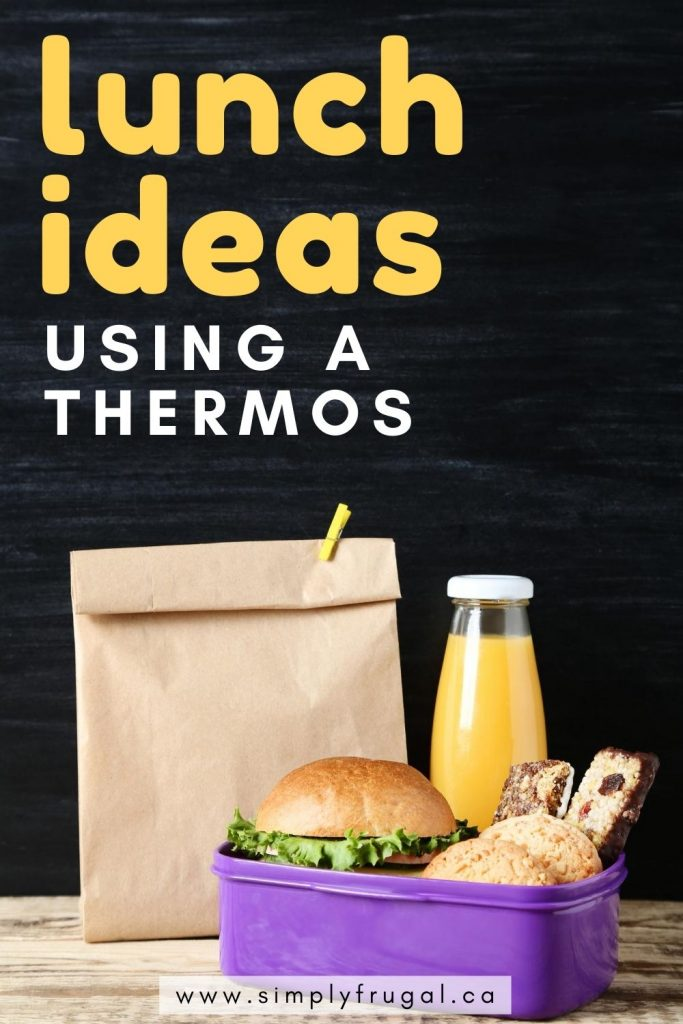Thermoses are a great investment and perfect for adding variety to school lunches. Here are 7 foods perfect for packing in thermoses!