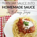 Turn Jar Pasta Sauce into Homemade Sauce