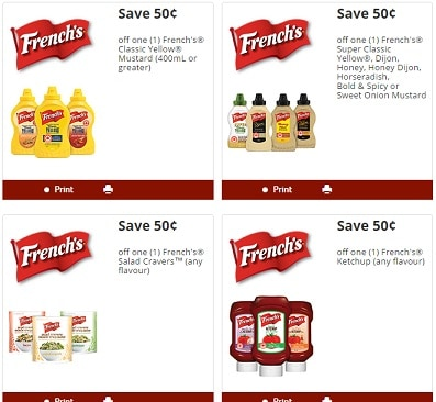 frenchs coupons