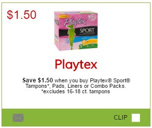 playtex coupon