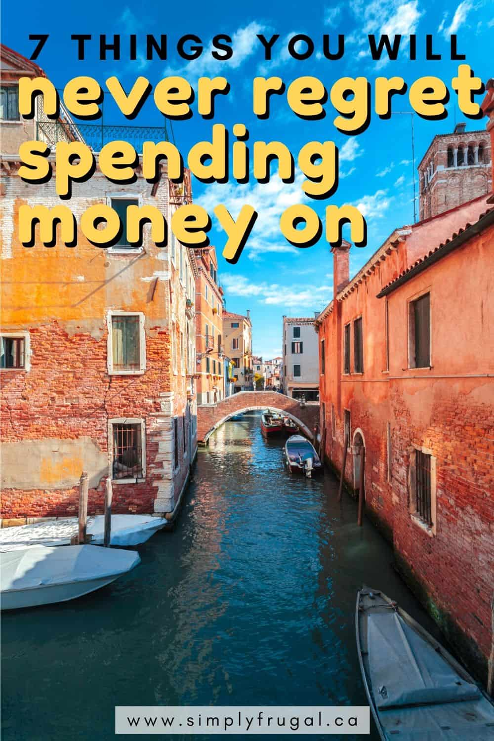 Frugalityis not just about ahouse full of containers waiting to be reused, or having a pile of cheap clothes waiting to be mended. Sometimes, it's about using yourtime and moneyintentionallyto do more ofwhat you love.