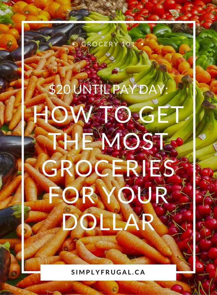 How to get the most groceries for your dollar, Grocery saving tips