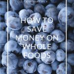 How to Save Money on Whole Foods