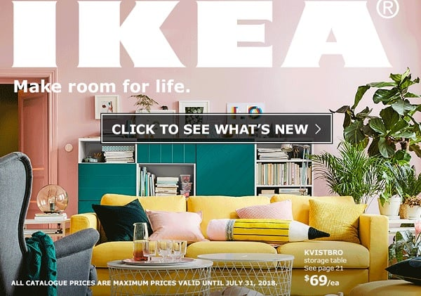 ikea canada 2018 catalogue now available. Black Bedroom Furniture Sets. Home Design Ideas