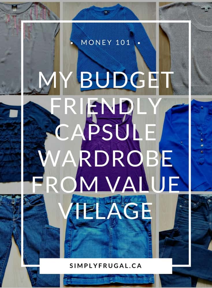 Budget friendly capsule wardrobe