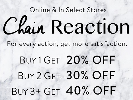 Bench.ca: Save up to 40% off Your ENTIRE Purchase