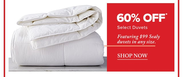 Bay Days: $99 Sealy Duvets in Any Size