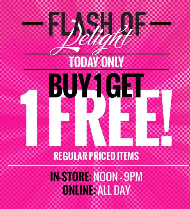 Penningtons Flash Of Delight Sale: Buy 1 Get 1 Free!