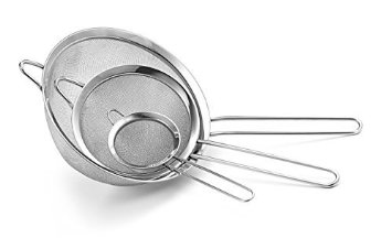 Culina Fine Mesh Stainless Steel Strainers 58% off