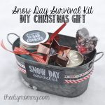 A Homemade Christmas Gift: Snow Day Survival Kit