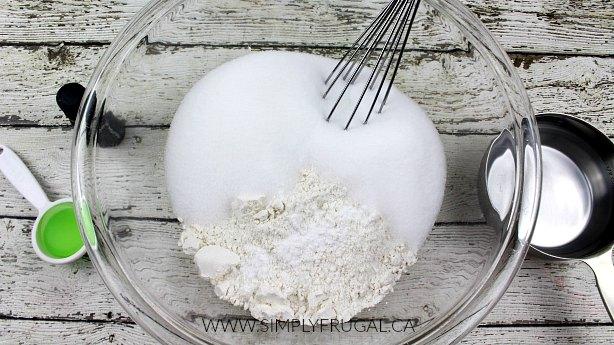 flour-salt