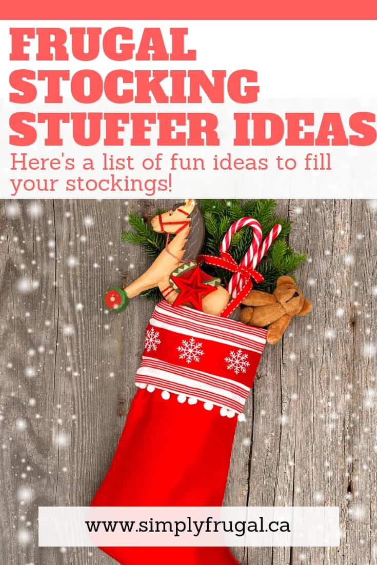 Here's a great list of frugal stocking stuffer ideas that are sure to please anyone!