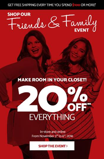Laura & Melanie Lyne Family & Friends Event: Save 20% off Everything