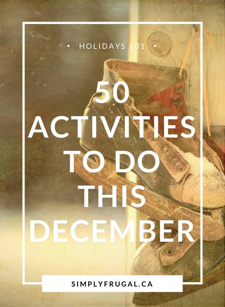 50 Activities to Do This December
