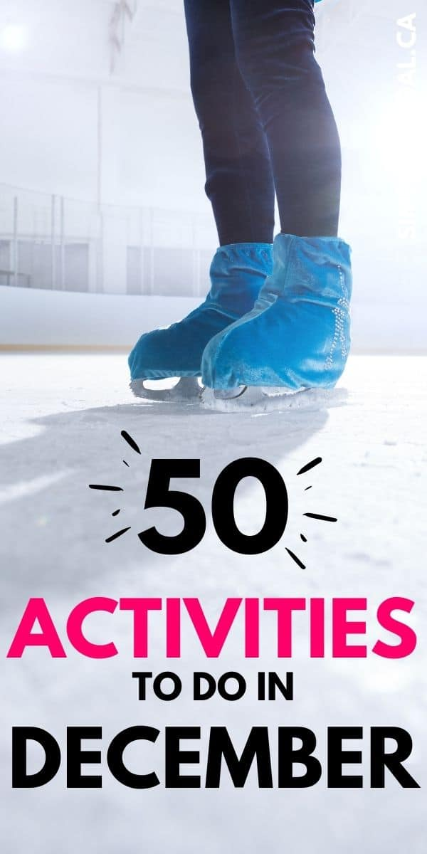 It's the most wonderful time of the year! Here are fifty, fun and frugal activities to do in December that everyone will love!