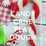 Scented Candy Cane Play Dough