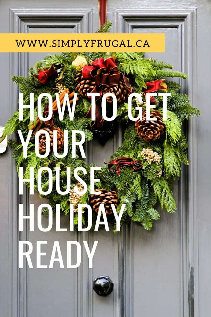 Learn how to get your house holiday ready in no time flat with this free holiday cleaning checklist!