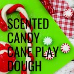 This is such a simple gift idea that is inexpensive and a great way for kids to use their imaginations. Here is how to make Scented Candy Cane Play Dough!