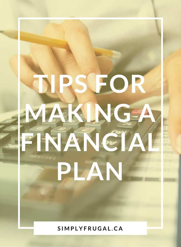 Tips for making a financial plan | Money saving tips
