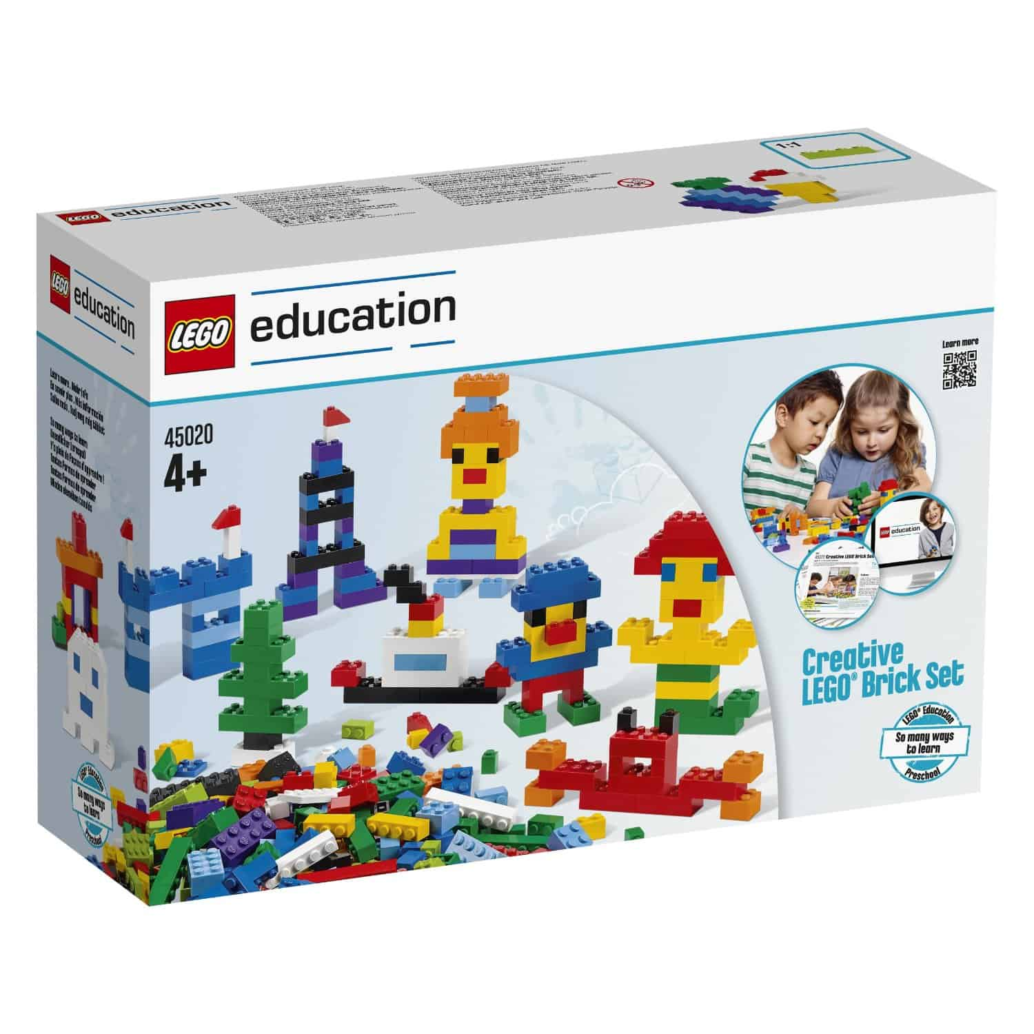Lego Education 1000 Piece Creative Brick Set 35 Off