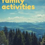 Family fun doesn't always have to cost money. There are plenty of activities you can try together that are just as fun, or even more fun, then activities that require cash. #frugalfun #freefun #familyfun #familyactivities