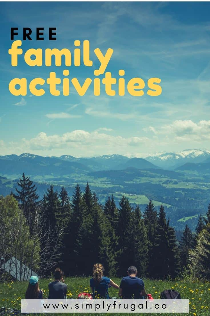 Family fun doesn't always have to cost money. There are plenty of activities you can try together that are just as fun, or even more fun, then activities that require cash.