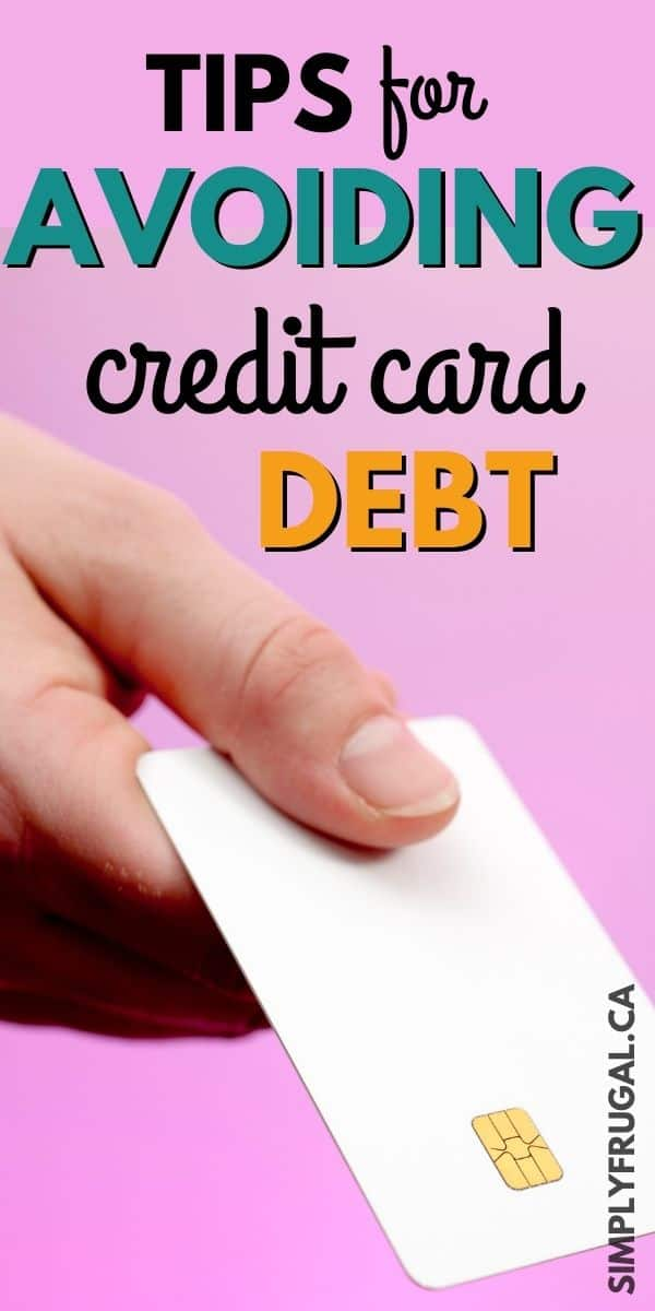 You've got to check out these tips & tricks for avoiding credit card debt! They are great ideas!