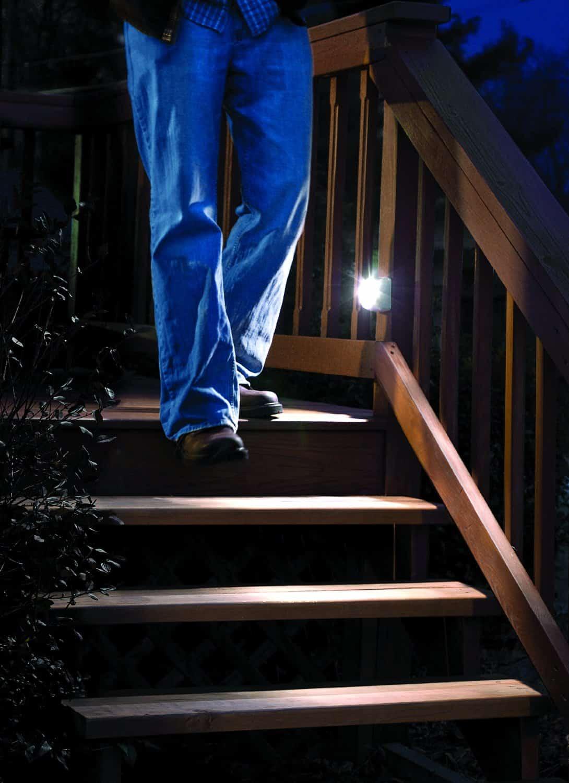 Mr Beams Motion Sensor Led Battery Powered Stair Light 65