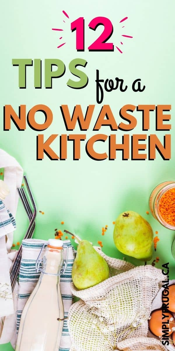 Armed with these tips, you will make little steps towards a no waste kitchen easily. Changing one thing at a time will enable you to see progress and keep more money in your pocket too!